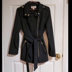 Michael Kors Black Trench Coat